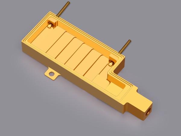 光电通讯无氧铜腔体